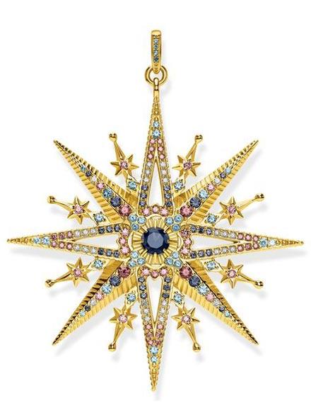 Anhänger Royalty Stern gold