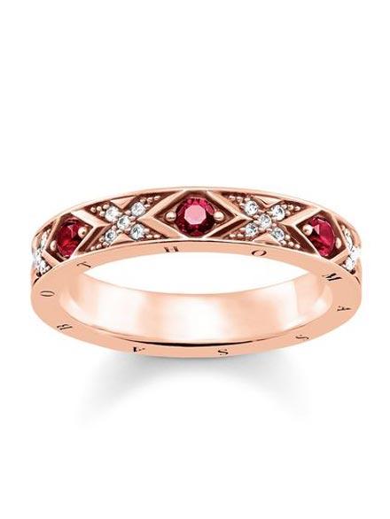 Thomas Sabo Ring asiatische Ornamente