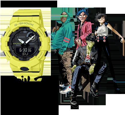 Casio Gorillaz + G-Squad - Uhren kaufen bei SZENARIO