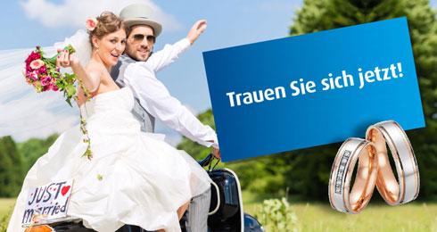 Trauen Sie sich – Eheringe kaufen im Landkreis Rosenheim