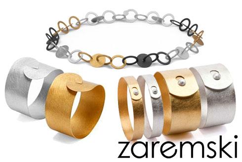 Zaremski Silberschmuck mit Vergoldung