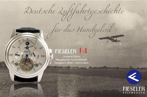 Fieseler Zeitmesser - Deutsche Luftfahrtgeschichte für das Handgelenk